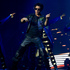 Bollywood superstar Shah Rukh Khan performs during his Khan's Temptation Reloaded show. Photo / Brett Phibbs