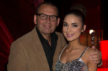 Paul Henry and daughter Sophie Hopes. Photo / Norrie Montgomery