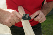Make and shape handle Step 4. Photo / Doug Sherring