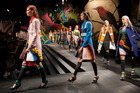 Prada Spring 2014 at Milan Fashion Week.