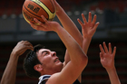Zach Easthope and his Tauranga Boys' College teammates deserved better at the secondary school basketball nationals. Photo / Joel Ford