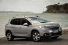 The Peugeot 2008 is in its element around the city . Pictures / Ted Baghurst