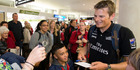 View: Team NZ welcomed home