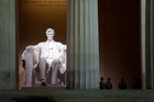 The museum at the Lincoln Memorial in Washington is one of may institutions to be closed. Photo / AP
