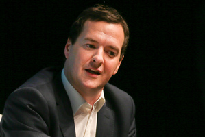 Britain's Chancellor of the Exchequer George Osborne. Photo / AP