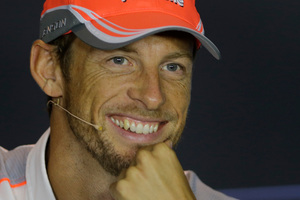 Jenson Button. Photo / AP