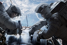 Sandra Bullock and George Clooney in 'Gravity'. Photo / AP