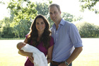 The birth of the Duke and Duchess of Cambridge's son, Prince George, has boosted royalist support. Photo / AP
