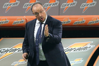 Rafael Benitez relishes his Napoli post after his bad time at Chelsea. Photo / AP