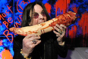 Ozzy Osbourne admitted he'd turned to booze and prescription pills again.Photo / AP