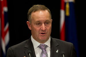 Prime Minister John Key . Photo / Mark Mitchell