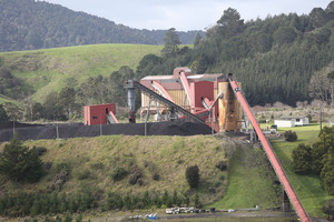 Solid Energy's underground mine in Huntly, Waikato. Photo / Chris Loufte