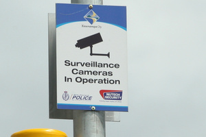 Surveillance cameras, which can be found in most major cities in the world, probably deter more crime than they detect. Photo / Martin Sykes