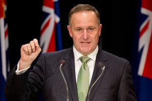 PM John Key accepted the policy would cause hardship for some home buyers. Photo / Mark Mitchell