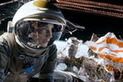 US astronaut Cady Coleman helped film star Sandra Bullock prepare for her Oscar-tipped role all the way from the International Space Station. Photo / AP