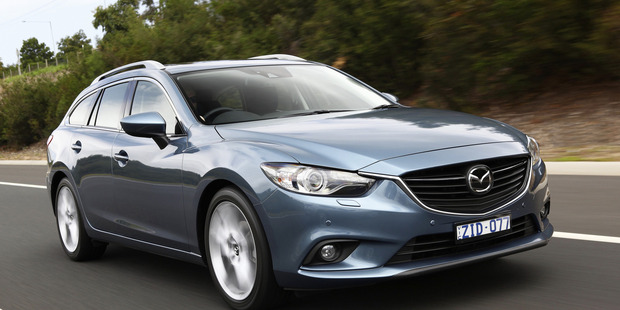 2013 Mazda6 wagon PHOTO / SUPPLIED
