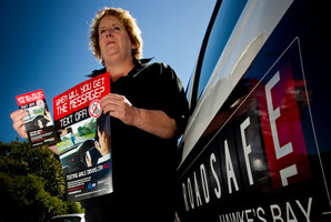 Linda Anderson is Roadsafe Hawke's Bay's Regional manager. Photo / Glenn Taylor
