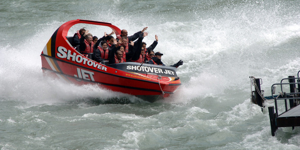Ngai Tahu Tourism is the parent company for Shotover Jet.  Photo / NZPA
