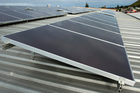 Flat pack retail giant IKEA is about to start selling residential solar panels in the UK. File photo / NZPA