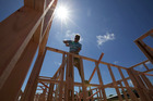 Building or buying a home is now difficult for people without a 20 per cent deposit. Photo / File