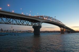 Auckland's Harbour Bridge.