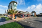 Two units with five tenants are for sale in Westpac Plaza in Orewa.