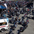 500 riders gathered for the Poker Run charity ride. Photo / Glenn Taylor