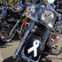 A line of motorcycles are parked in Hastings as the riders stop for lunch. Photo / Glenn Taylor