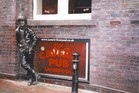 The spirit and an effigy of John Lennon will always reside at The Cavern Club. Photo / Paul Rush