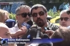 The deputy leader of Greece's neo-Nazi Golden Dawn party, said his party would fight till the end despite the arrest of its leadership on Saturday