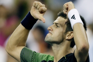 Things turned nasty after this 2008 US Open quarter-final clash. Photo / AP