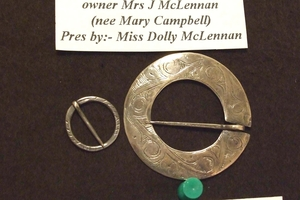 MISSING: Celtic-style brooches that are more than 200 years old were among items stolen.