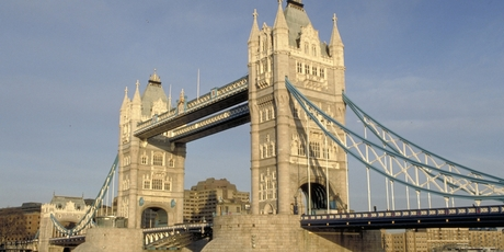 London's Tower Bridge.