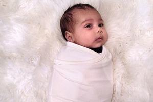 Kim Kardashian's baby North. Photo / Instagram
