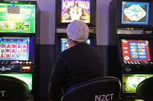 Millions of dollars go into local pokie machines.