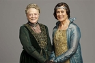 Dame Maggie Smith (below left) is the dowager countess at Downton Abbey and Dame Kiri Te Kanawa plays Dame Nellie Melba in the fourth season of the series.