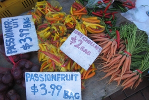 Sell your surplus produce at your local farmers' market and feather your financial nest-egg.