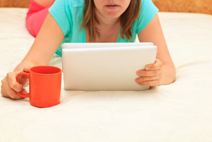 iPads were best left outside the bedroom when preparing for a night's rest. Photo / Thinkstock