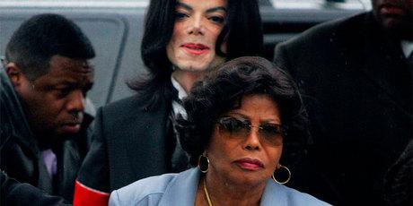 Katherine Jackson and Michael Jackson. Photo / AP