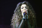 Lorde performing at Vector Arena. Photo / Chris Loufte