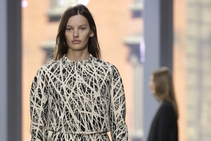 Proenza Schouler Spring 2014 collection is modeled during Fashion Week in New York.