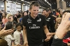 """Emirates Team New Zealand were treated to a heroes welcome today, as Auckland city turn on the kiwi pride at Shed 10. Skipper Dean Barker said """"today more than any other time, I think...I can honestly say this is the proudest I've ever been to be a New Zealander"""""""