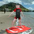Cody Groot, 5, enjoys the weather at the Mount Main Beach. Photo/Andrew Warner