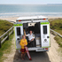 As of Monday an ambulance will be based at the Papamoa Surf Club. Life guard Ailsa Cowdrey and paramedic, Steven Pasquali. Photo/John Borren
