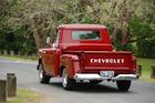 1956 Chev pickup. Photo / Jacqui Madelin