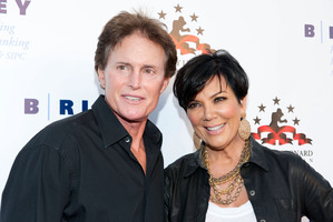 Television personalities Bruce and Kris Jenner. Photo / Getty Images