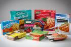 A selection of frozen meals chosen for the Herald's taste test. Photo / Natalie Slade