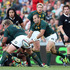 Fourie du Preez of South Africa passes the ball during the Rugby Championship. Photo / Getty Images