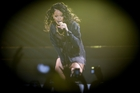 Rihanna during her concert in Auckland. Photo / Sarah Ivey