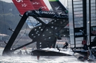 Emirates Team New Zealand's sponsors will be asking what sort of exposure they received from the America's Cup regatta. Photo / AP